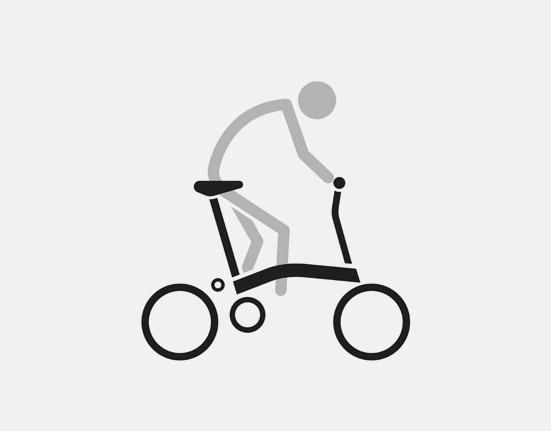 S Type Ride on small folding bike